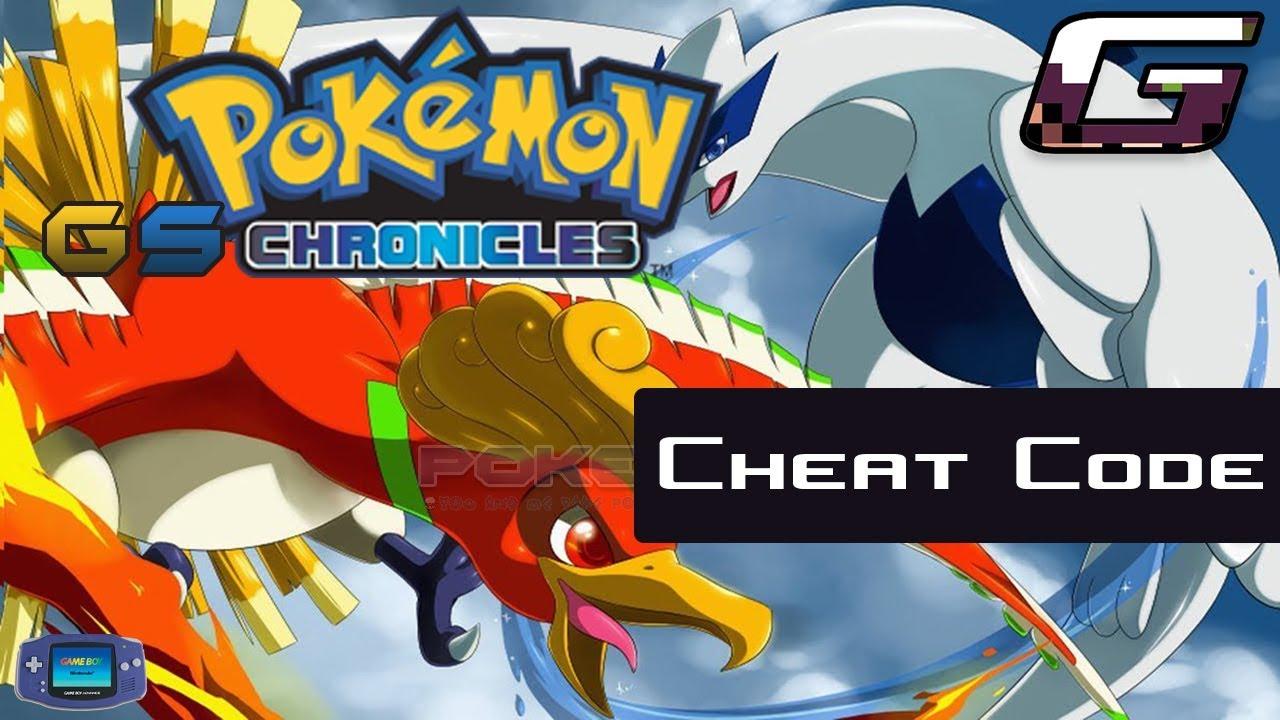 Pokemon GS Chronicles - Gameshark - Cheat Code