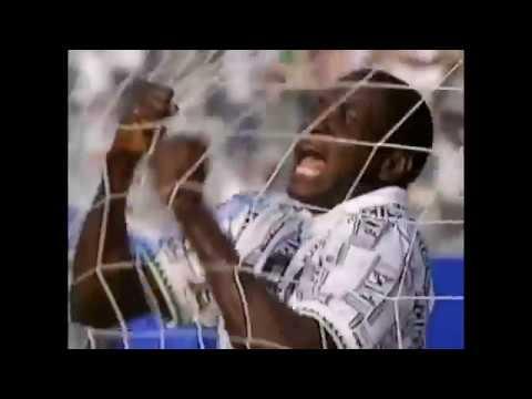 Rashidi Yekini Goal - World Cup 1994 - Group D   Nigeria - Bulgaria 3:0   21'