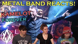 Kamelot - Forever (Live) REACTION | Metal Band Reacts!