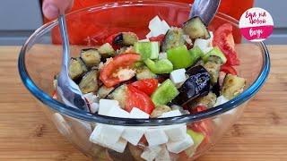 Абсолютно НОВЫЙ 😋 Рецепт!!! Вот как нужно готовить баклажаны! Салат-закуска понравится всей семье