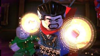 LEGO Marvel Super Heroes 2 Part 8 Rune To Manoeuvre (Dr. Strange, Spider-Man, She Hulk, Wong)