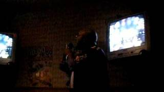 """Luther Vandross """"Dance With My Father"""" covered by G Wright at Karaoke Night in Japan"""