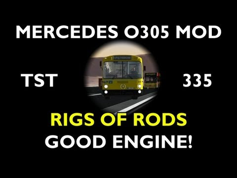 Mercedes Benz O305 Mod For Rigs Of Rods - TST Nº335