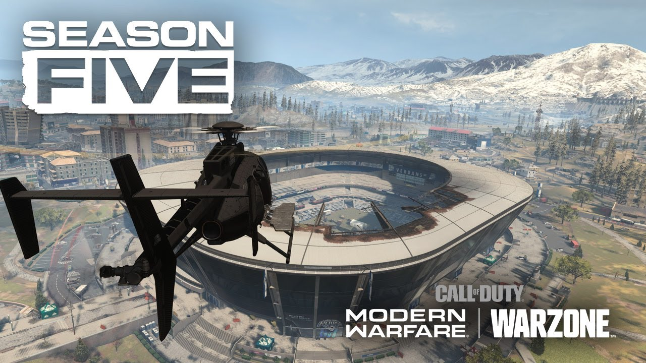 Season 5 de Call of Duty: Modern Warfare e Warzone é anunciada