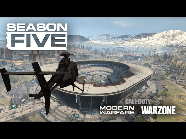 Call Of Duty Warzone Season Five Opens Up The Stadium To Combat Venturebeat