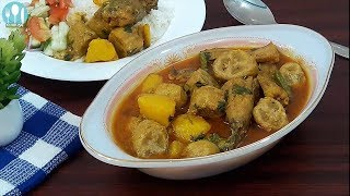 কাঁচকলা দিয়ে শিং মাছের ঝোল। Shing Macher Jhool | Catfish Curry Bangla Recipe by Cooking Channel BD.