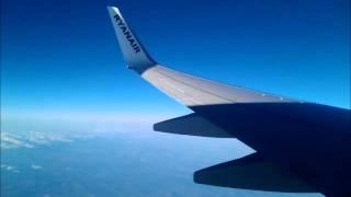 Strong turbolence on Ryanair Flight Madrid-Rome 04 Feb 2012