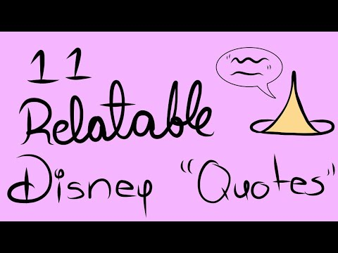 11 Disney Quotes That Are Relatable To Daily Life Youtube