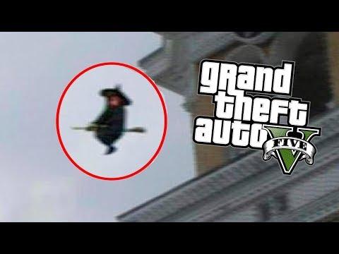 LA BRUJA DEL PANTANO !! (Terror) - GTA V