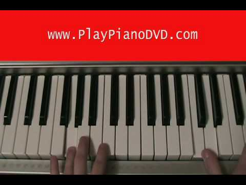 How to Play It Ends Tonight by The AAR on Piano part 2 of 3