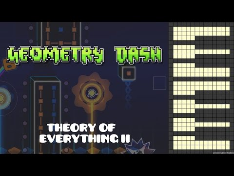 Geometry Dash - Theory Of Everything 2 [Piano Cover]