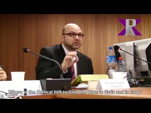 War in Syria & Iraq can be stopped? Andrew Feinstein Speech at U.N. based side event