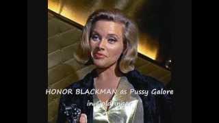 James Bond Cast Montage
