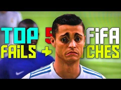 TOP 5 FIFA 18 - Fails, Glitches, & Funny Moments