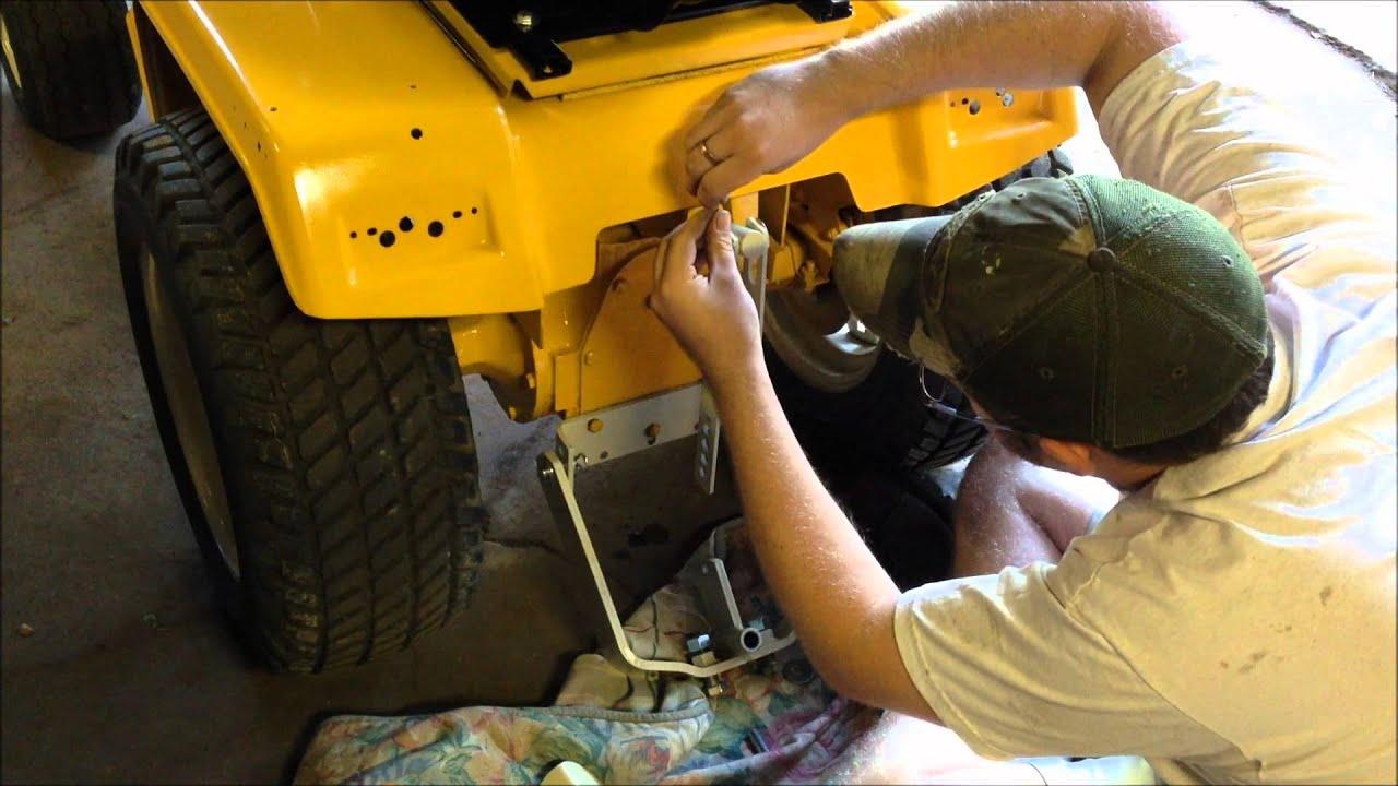 cub cadet sleeve hitch install