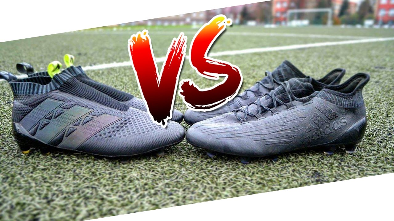 huge discount bb3b1 c36bf Pogba vs Bale - | BOOT BATTLE |Adidas ACE 16+ vs Adidas X 16.1 - Test &  Review