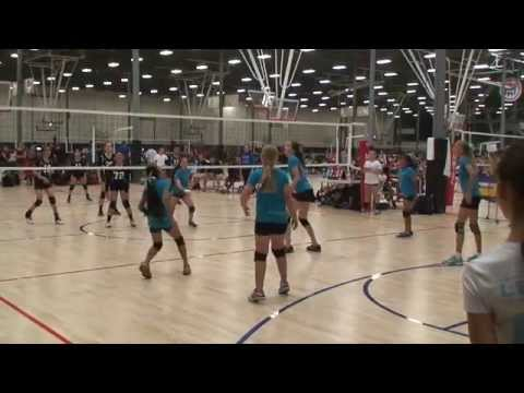 Offshore Volleyball 12-2 vs Club Heights 12-Gold (Match2) 6/6/2015 (L)