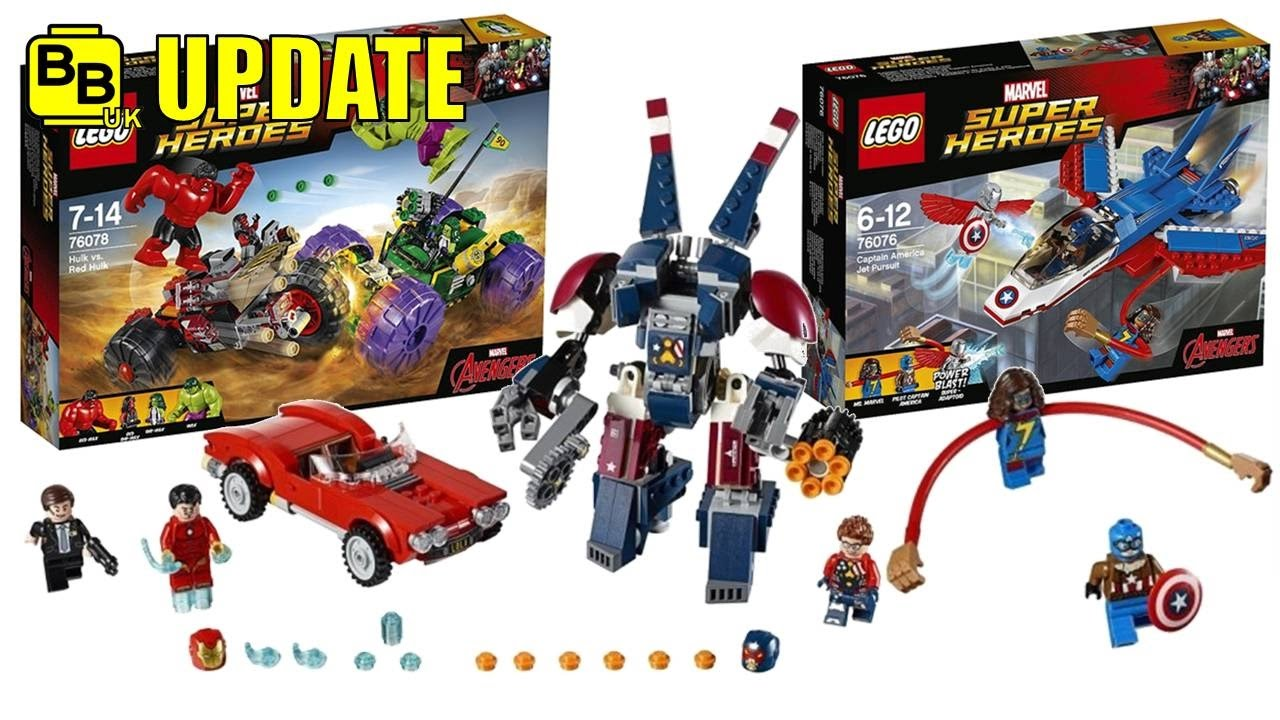 marvel lego sets