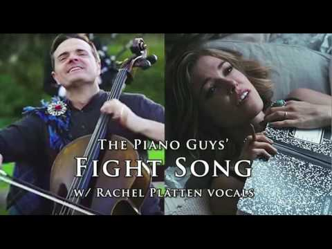 """Fight Song"" - ThePianoGuys Mashup w/ Rachel Platten Vocals"
