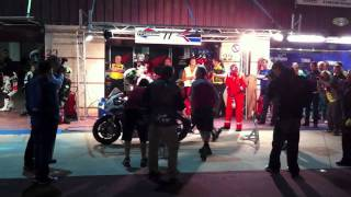 Honda TT Legends - Albacete 8-hour night pit stop