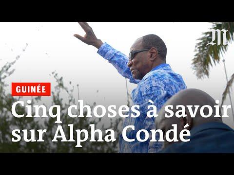 Guinée: cinq choses à savoir sur Alpha Condé.