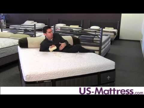 Stearns & Foster Lux Estate Hybrid Point Adams Luxury Plush Mattress