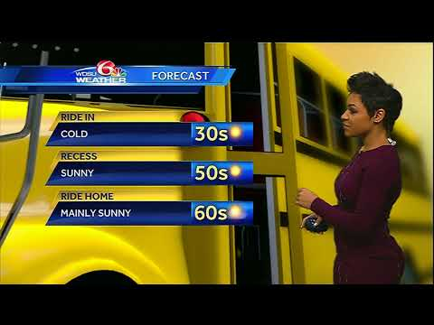 Wednesday AM Videocast: Cold start, more sunshine