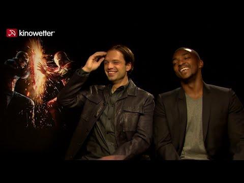 Interview Sebastian Stan & Anthony Mackie CAPTAIN AMERICA: CIVIL WAR