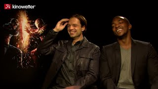Interview Sebastian Stan & Anthony Mackie CAPTAIN AMERICA: CIVIL WAR