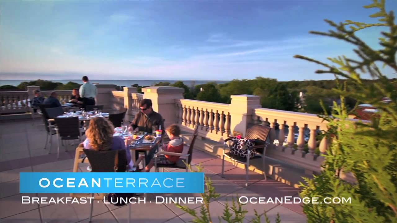 Ocean Terrace At Ocean Edge Resort Amp Golf Club Youtube