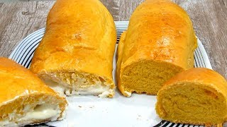 Pão de Cenoura Fofinho e Recheado