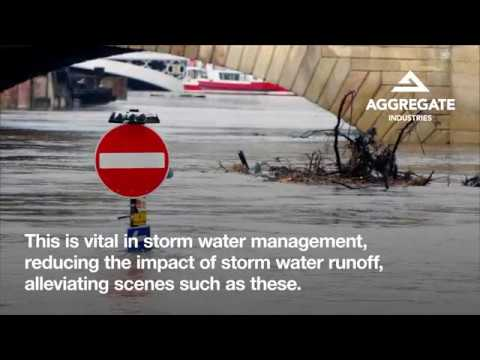 Hydromedia® - Aggregate Industries' solution to flooding