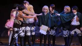 Oni No Yoru 16   28. сценка Shingeki No Kyojin