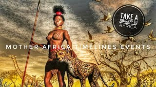 African Journey Time Lines And Events