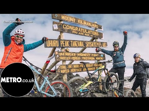 Three Cyclists Become First To Conquer Mount Kenya and Mount Kilimanjaro back-to-back