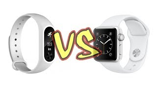 Xiaomi Mi Band 2 лучше чем Apple Watch? ⌚️vs⏱