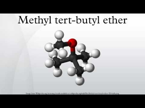 a description of methyl tertiary butyl ether mtbe