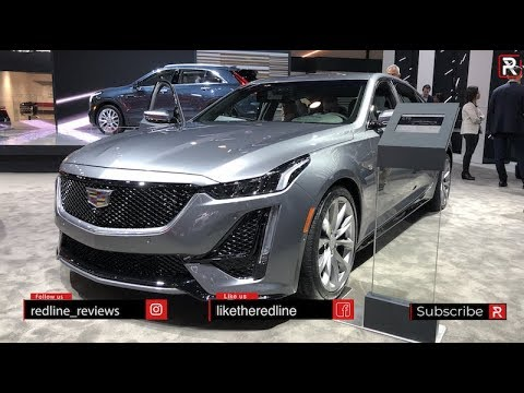 2020 Cadillac CT5 – Redline: First Look – 2019 NYIAS
