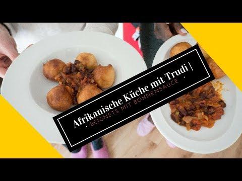 Beignets mit Bohnensauce - African Küche für jedermann