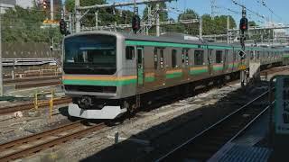 JR東日本E231系、E531系@宇都宮線、上野東京ライン、常磐線快速 上野駅