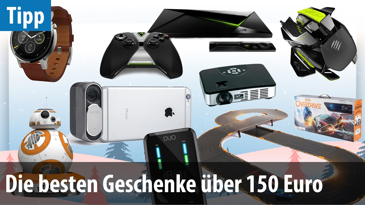 die besten technik geschenke ber 150 euro 2015 deutsch german youtube. Black Bedroom Furniture Sets. Home Design Ideas
