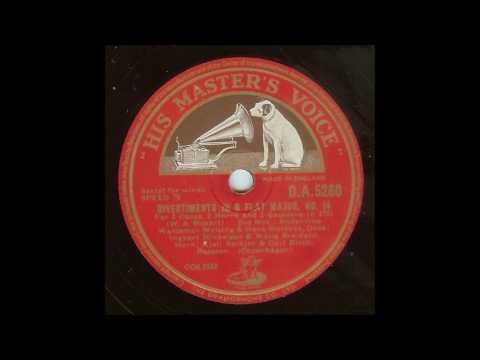 Mozart Divertimento No 14 (Danish Radio winds, 1947)