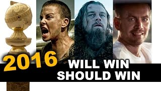 Golden Globes 2016 Nominations - Review aka Reaction - Beyond The Trailer