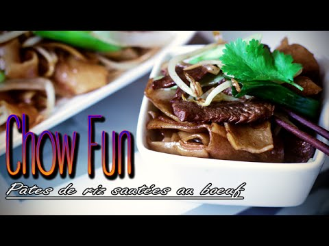 chow-fun---pâtes-de-riz-sautées-au-boeuf---le-riz-jaune