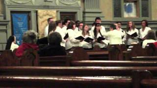 Carol of the Bells - Notre Dame Choir, M.Leontovich ,arr. Wilhousky @ Mary Queen of Peace, Dec '13