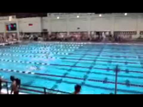 swimming 100 back long course olympic size pool lane 2 far end youtube