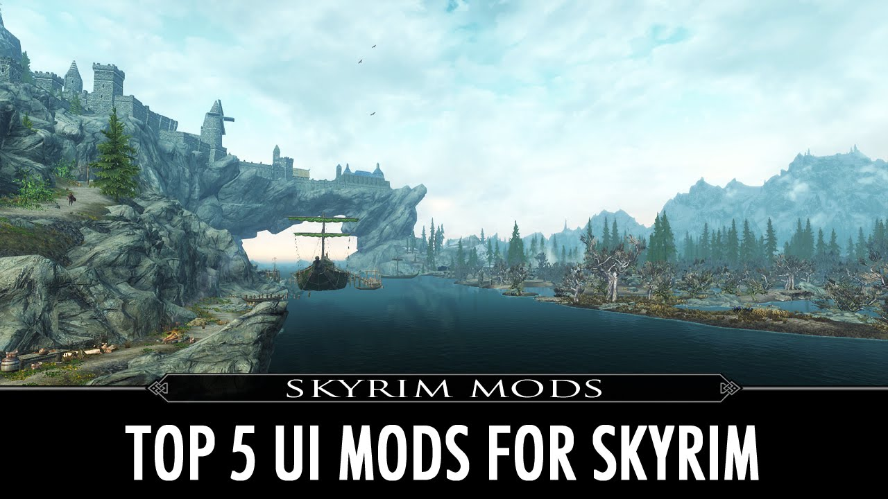 Top 5 Skyrim Ui Mods Youtube