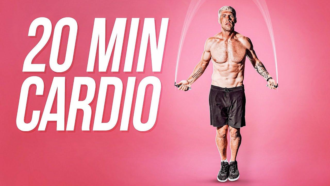 20 Min Jump Rope Cardio Workout