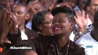 YY imitates Churchill Show Comedians...