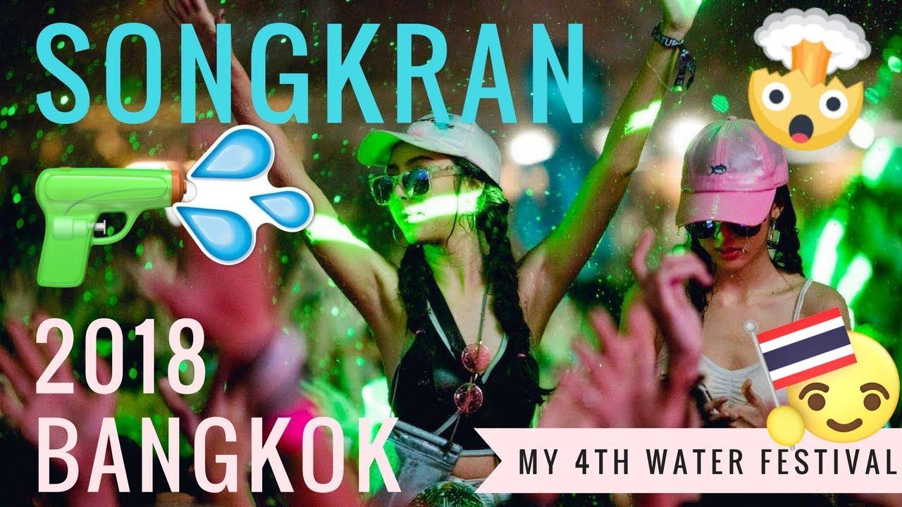 BEST SONGKRAN EVER!? ☀️?BANGKOK 2018 ?EPIC S2O Rave & Khao San Party ☀️(Thailand Water Festival)